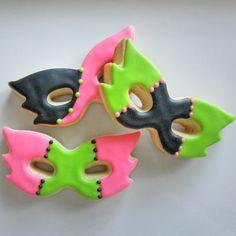 Masquerade cookies $34.00, via Etsy