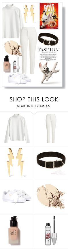 """Bolt"" by waltdisneylover ❤ liked on Polyvore featuring Disney, Joseph, Jennifer Fisher, Puma and e.l.f."
