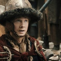 Bilbo, you are too adorable for words.