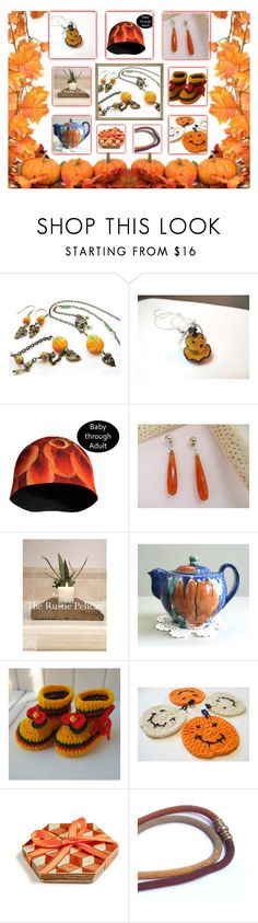 """""""Pumpkin Season"""" by belladonnasjoy ❤ liked on Polyvore featuring UGG, modern, rustic and vintage"""