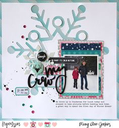 My Crew by @maryannjenkins for the @paperissuesteam Take 5 Tuesday Challenge - maryannjenkins.com