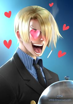 Sanji ( lol ) by Sebiji.deviantart.com on @DeviantArt