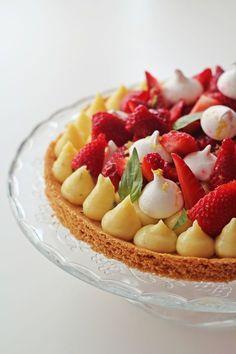 Fun Desserts, Delicious Desserts, Dessert Recipes, Yummy Food, Tart Recipes, Sweet Recipes, Cooking Recipes, Sweet Pie, Sweet Tarts