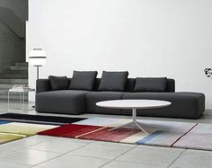 MAGS SOFT SOFA - Designer Sofas from HAY ✓ all information ✓ high-resolution images ✓ CADs ✓ catalogues ✓ contact information ✓ find your. Sofa Furniture, Office Furniture, Furniture Design, Furniture Ideas, Tv Stand Designs, Modular Sectional Sofa, Design Studio, Carpet Design, Sectional Sofas