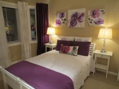 Merveilleux Purple And Yellow Bedrooms   Ideas To Divide A Bedroom Check More At Http:/