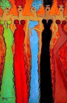 Haute Couture Colours - by Helen Gerro
