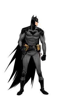 Low Tech Batman on Behance