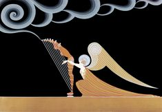 The Angel  Erte
