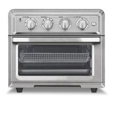 Cuisinart TOA-60 Stainless Steel Combination Air Fryer Toaster Oven - Free Shipping Today - Overstock - 20655341 Countertop Oven, Countertops, Small Appliances, Kitchen Appliances, Kitchen Gadgets, Kitchens, Oven Fryer, Plancha Grill, Pumpkin Chocolate Chip Bread