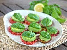 Heirloom Tomato Avocado Caprese Salad