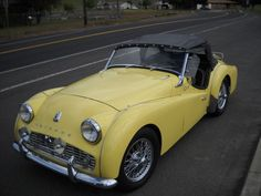 1959 TRIUMPH TR3A Maintenance/restoration of old/vintage vehicles: the material for new cogs/casters/gears/pads could be cast polyamide which I (Cast polyamide) can produce. My contact: tatjana.alic@windowslive.com
