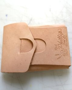 phillips Origami leather wallet