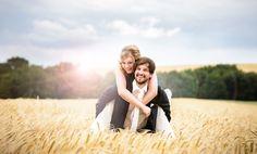 Hochzeitsfoto in Trier im Kornfeld!