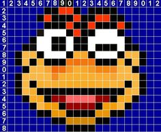 muppets perler bead pattern | Looking for Muppet sewing/knitting/cross stitch/craft patterns