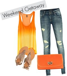 Weekend Getaway, created by malliej on Polyvore