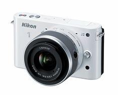 Nikon 1 J2 10.1 MP HD Digital Camera with 10-30mm VR Lens (White)