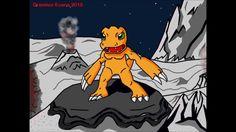 Dremico's Art Channel: Digemon Agumon Remastered