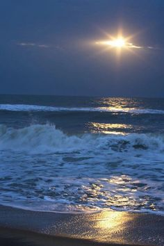Moonlight @ surfside beach, sc