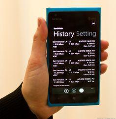 CNET: Nokia Lumia 900 4G LTE speed test (hands-on)
