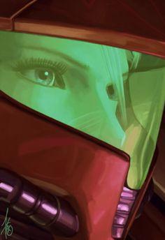 Metroid Samus by DeadArtcore