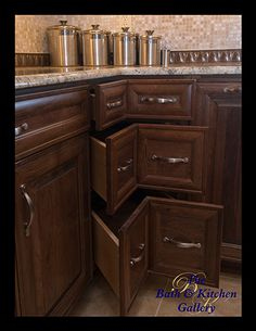 must have corner drawers!!!   Tampa Kitchen Remodeling