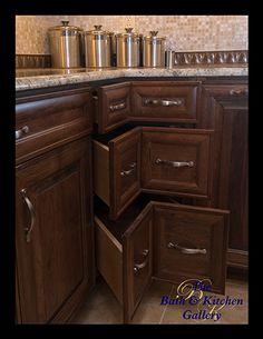must have corner drawers!!!   Tampa Kitchen Remodeling