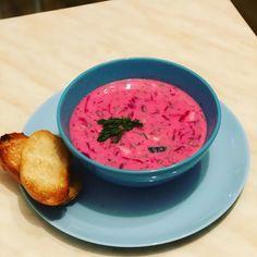 "Ника Ситник🐾 on Instagram: ""Летний вариант, свекольник!"" Ethnic Recipes, Food, Essen, Meals, Yemek, Eten"
