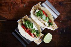 Fish tacos med knurhane