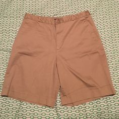 Ralph Lauren Polo shorts Women's khaki Ralph Lauren Polo shorts size 12. Excellent condition. Worn only a couple times they just never quite fit me right. Polo by Ralph Lauren Shorts