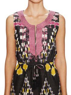 Risha Tasseled Waist Dress from Calypso St. Barth on Gilt