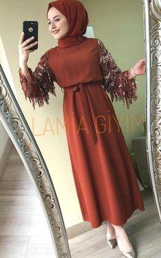 Hijab Evening Dress, Hijab Dress Party, Hijab Style Dress, Modest Fashion Hijab, Modern Hijab Fashion, Abaya Fashion, Muslim Fashion, Fashion Dresses, Mode Abaya