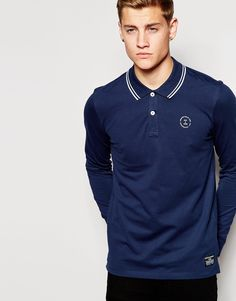 Polo shirt by Jack & Jones Breathable pique Twin tipped collar Two button placket Signature branding Regular fit - true to size Machine wash Cotton, Elastane Our model wears a size Medium and is tall Polo Fashion, Twin Tips, Marken Logo, Pique Polo Shirt, Models, Jack Jones, Mannequin, Shirt Style, Polo Ralph Lauren