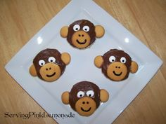 Printable Monkey Crafts | Monkey Food Recipes