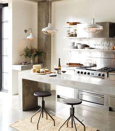 Rejuvenation: Redland Industrial Kitchen (dining room pendants)