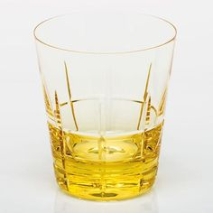 Crinkle Double Old Fashioned Glass