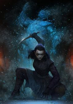 game of thrones Arya Kills the Night's King - Zhengang Rao