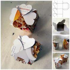 DIY : Cereal Box Gift Box Tutorial