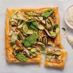 Chicken, spinach and baby marrow tart - MyKitchen