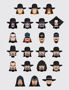 Post with 289 views. The Many Faces of Undertaker Japan Pro Wrestling, Wrestling Wwe, Wrestlemania 30, Undertaker Wwe, Lucha Underground, Wrestling Superstars, Brock Lesnar, Many Faces, John Cena
