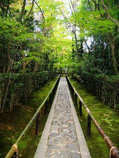 Entrance Walkway, Koto-in Zen Temple, Kyoto