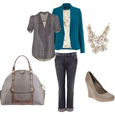 My first attempt on Polyvore... too much fun