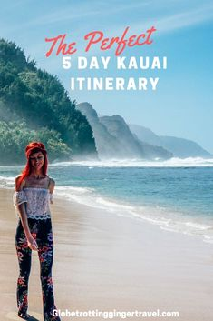 There is so much to see and do on the beautiful Garden Island of Kauai, but this article will highlight a perfect 5 day Itinerary!