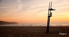 La torre de guaita de la platja del Far - Salida del sol en la platja del Far de Vilanova i la Geltrú (Garraf-Barcelona). Desde las 7 esperando a que se hiciera de día y valió la pena!!!