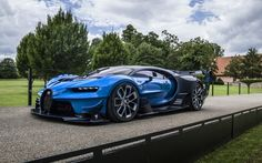Bugatti Chiron And Vision Gran Turismo Concept Already Sold Before Pebble Beach Bugatti Wallpapers, Car Wallpapers, Hd Wallpaper, Maserati, Lamborghini, Ferrari, Bugatti Cars, Supercars, Trains
