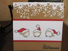 Merry Christmas Birds by Michele G - Cards and Paper Crafts at Splitcoaststampers