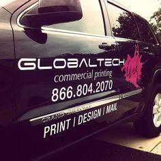 Company car. #globaltech #globaltechnj #print #design #mail