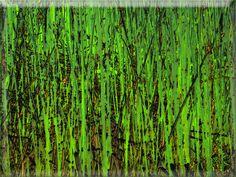 """'Glaskachel """"Schilfgras"""" ' von Rudolf Büttner bei artflakes.com als Poster oder Kunstdruck $18.71"""