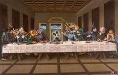 Disney The Last Supper