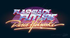 Flashback Future Logo on Behance