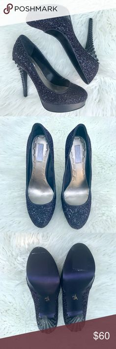 """Rachel Roy KIMI Heel in Purple Size 6 These have a 4 3/4 spiked heel, a 1 """" platform and have never been worn. They do not come with a box. Rachel Roy Shoes Heels"""
